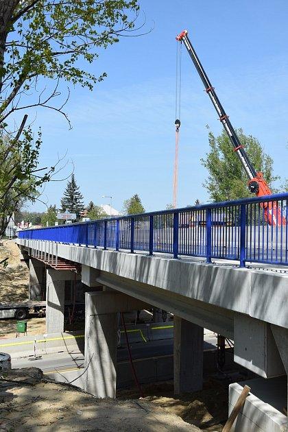 Kvůli demolici uzavřou ovíkendu most na Brněnské ulici vHodoníně.
