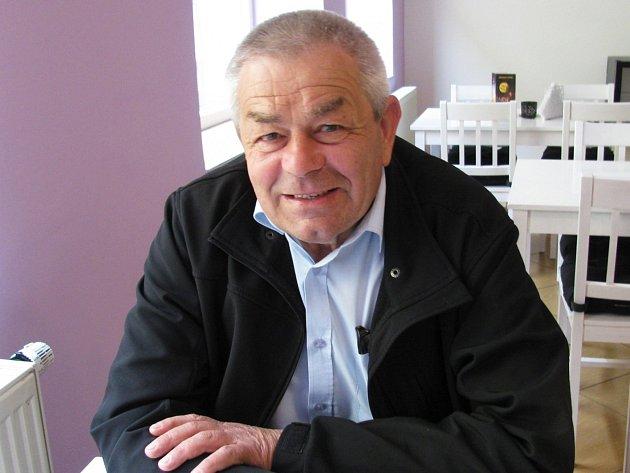Bývalý starosta Bukovan Zdeněk Slováček.