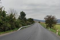 Opravený úsek silnice I/54 mezi Žarošicemi a místní částí Silničná.