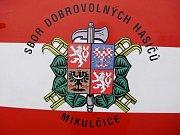 Sbor dobrovolných hasičů z Mikulčic.