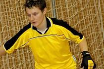 Fotbalistka Nesytu Hodonín Kristýna Lokajová dala na mezinárodním turnaji nejvíe branek a byla i nejlepší brankářkou.