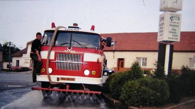 Sbor dobrovolných hasičů z Moravského Písku.