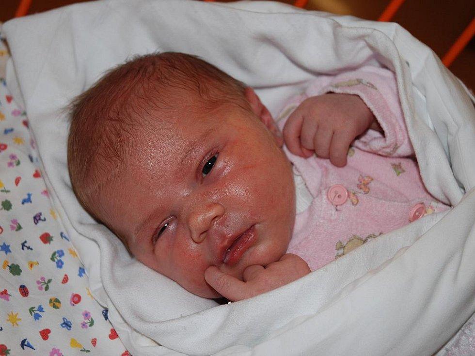 Gabriela Dvorská, 12. března 2010, 52 cm, 3,95 kg, Bzenec