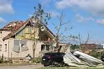Apokalypsa v Lužicích, některými ulicemi se prohnalo ve čtvrtek večer tornádo.