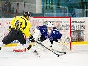 Hodonínští hokejisté ve čtvrtečním přípravném zápase podlehli Moravským Budějovicím 3:4 po samostatných nájezdech.