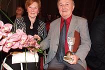 Fotograf Jiří Horák s manželkou