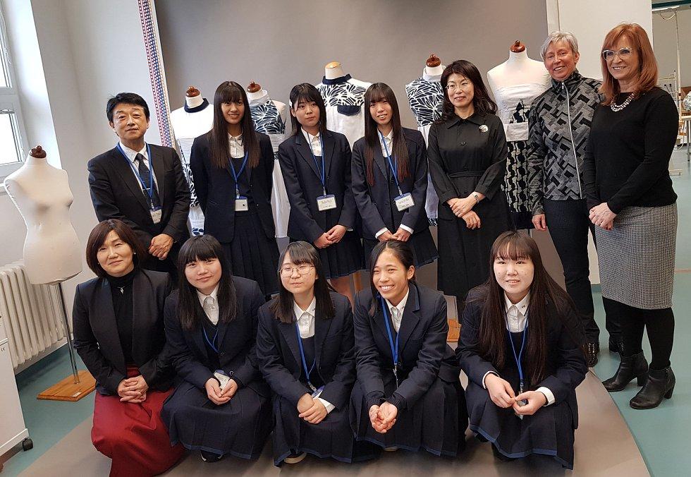 Střední škola Strážnice hostila japonskou výpravu z města Komacušimy.
