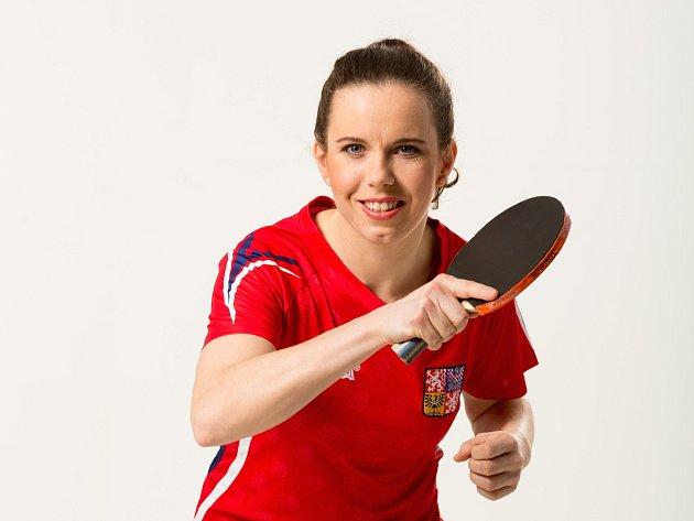 Stolní tenistka Iveta Vacenovská.