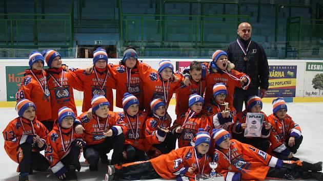 Mladí Drtiči vybojovali na domácím mezinárodním turnaji bronz