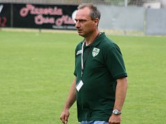 Známý trenér Petr Zemánek (na snímku) dovedl mutěnické fotbalisty v jihomoravském krajském přeboru ke druhému místu.