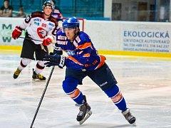 Mladý hodonínský útočník MIchal Venclík si proti poslednímu Valašskému Meziříčí připsal premiérový gól mezi muži.