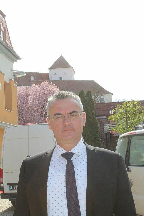 Starosta Čejkovic Pavel Novotný.