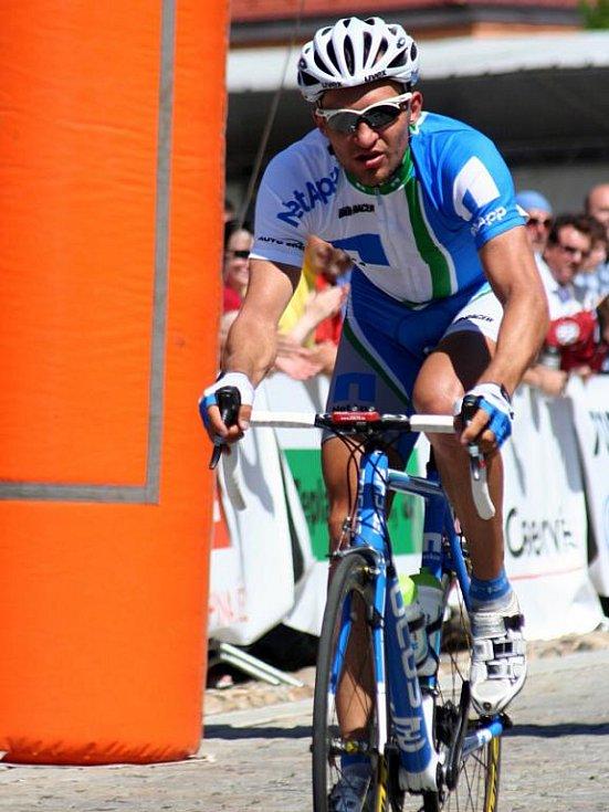 Odchovanec CK Dacom Pharma Kyjov Jan Bárta dojel na mistrovství České republiky šestý.