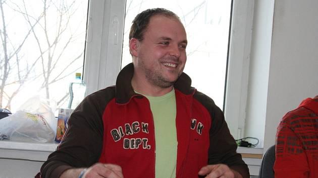 Petr Pokorný při online rozhovoru