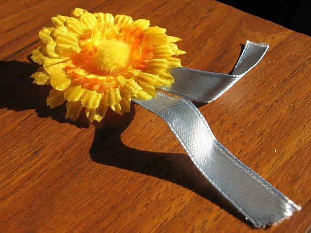 Prodávali květiny proti rakovině
