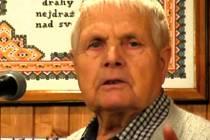Velický vyšívač senior Antonín Vrba zemřel.
