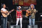 Žalman a hosté na Festivalu Slunce ve Strážnici.
