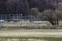 Tréninkové hřiště fotbalového Slavoje v Rohatci.