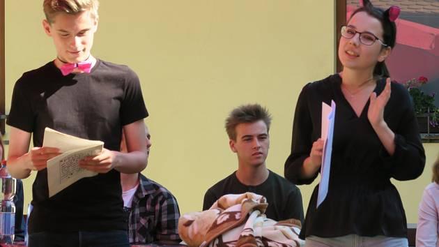 Děti ze Základní školy Jana Ámose Komenského se zúčastnily Týdne čtení pořádaného Městkou knihovnou Kyjov.