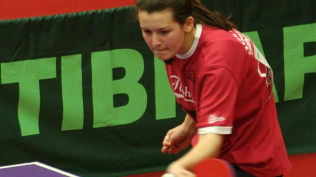 Kateřina Tomanovská na loňském republikovém šampionátu