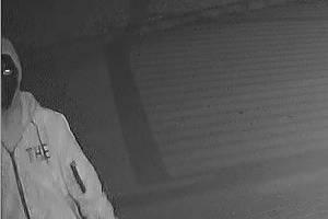 Zloděje v areálu zachytila kamera.