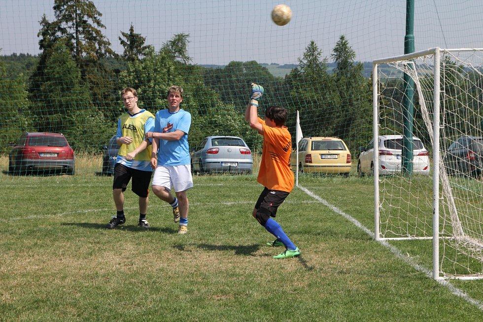 Tradiční turnaj v malé kopané Hyundai Cup vyhráli Old Stars.