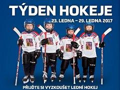 Druhý díl náborové akce Týden hokeje se na Zimním stadionu Václava Nedomanského v Hodoníně uskuteční v neděli 29. ledna. Začátek je v 9.15.