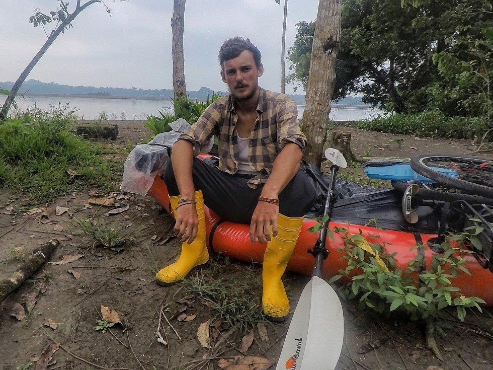 Hodonínský cestovatel Matěj Balga na cestě kolem světa.