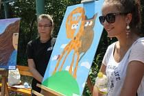 Pátý ročníku výtvarného sympozia Kroky k umění přilákal mladé umělce i ředitele nemocnice.