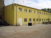 Administrativní budova v areálu firmy Ploma.