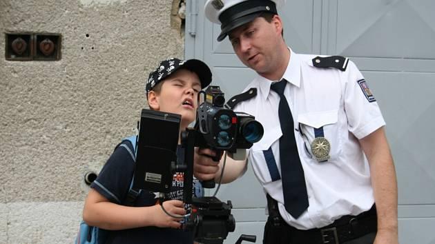 Den otevřených dveří u hodonínské státní policie.