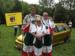 Sraz automobilů Fiat Marea ve Strážnici