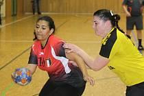 Házenkářky druholigového Hodonína se v rámci přípravy utkaly s juniorskou reprezentací Egypta, která je v těchto dnech na soustředění v Hustopečích. Mladým Afričankám se na jihu Moravy líbí, i když ve sportovní hale TEZA dvakrát prohrály.