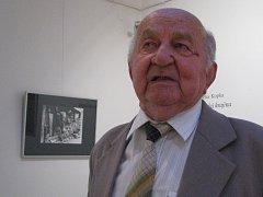 Václav Kopka vystavuje své fotografie v hodonínské Galerii výtvarného umění.