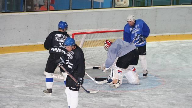 Hodonínští Drtiči se objevili opět na ledě