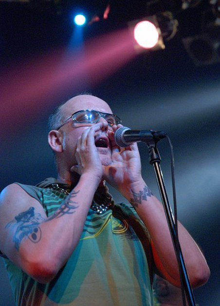 Showman a zpěvák kapely Abraxas Miroslav Imrich