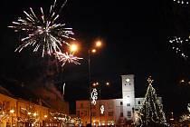 Silvestrovské oslavy v Kyjově.