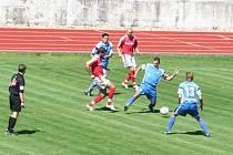 Prvoligový tým 1. FC Brno sehrál přátelské utkání v Hodoníně