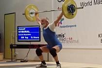 Zkušený strážnický vzpěrač Josef Vybíral na letošním světovém šampionátu v olympijské sportovní disciplíně obsadil páté místo.