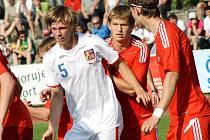 Osmnáctiletý zadák Chelsea Tomáš Kalas se do vyložené šance nedostal.