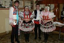 Letošní Krojovaný ples ve Vacenovicích.