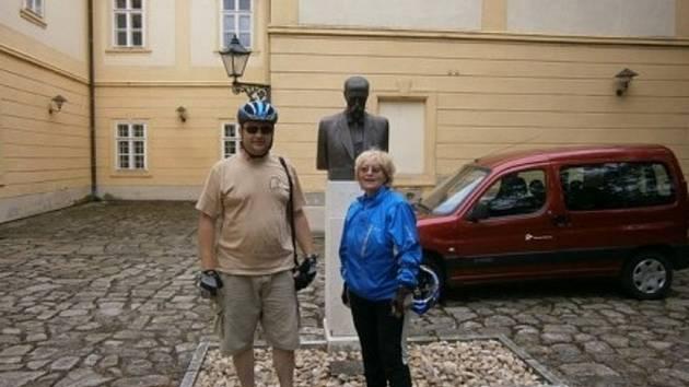 Závěr loňské cykloprojížďky z Košarisk do Hodonína.