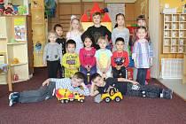 Děti z mateřské školy Vrchlického v Hodoníně