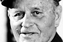 Poslední velitel 311. československé bombardovací perutě Britského královského letectva a čestný občan města Kyjova Vladimír Nedvěd.