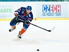 Hodonínský obránce David Polesný v úvodních deseti zápasech druhé hokejové ligy zaznamenal čtyř body. Ke dvěma asistencím přidal i stejný počet gólů.