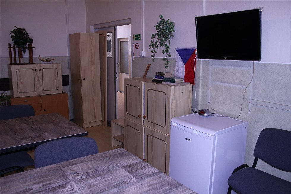 Městská ubytovna v Kyjově na Havlíčkově ulici nabízí ubytování za čtyři tisíce korun na měsíc.
