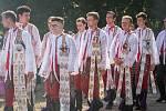 Den slovanských věrozvěstů Cyrila a Metoděje oslavili věřící na Slovanském hradišti v Mikulčicích tradiční Cyrilometodějskou poutí Podluží.
