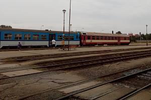 Vlakové nádraží v Kyjově je jednou z důležitých zastávek na Vlárské dráze. Ilustrační foto.