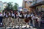 Lidé si ve Strážnici užili 74. ročník Mezinárodního folklorního festivalu.