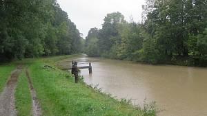 Rozvodněné toky na jižní Moravě